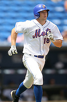April 12, 2009:  Seth Williams (18) of the St. Lucie Mets, Florida State League Class-A affiliate of the New York Mets, during a game at Tradition Field in St. Lucie, FL.  Photo by:  Mike Janes/Four Seam Images