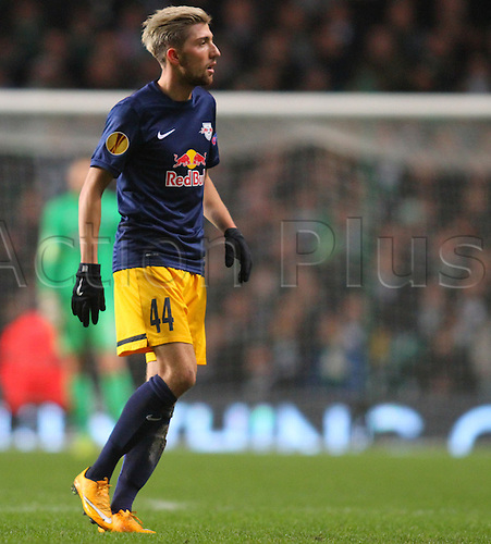 27.11.2014. Glasgow, Scotland. Europa League Group Stages Qualifying Round. Celtic versus FC Red Bull Salzburg. Kevin Kampl of Red Bull Salzburg