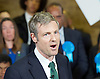 Zac Goldsmith and Boris Johnson Rally <br /> for Conservative Mayor of London Campaign London Great Britain <br /> 7th April 2016 <br /> <br /> Zac Goldsmith MP<br /> Boris Johnson MP <br /> <br /> Photograph by Elliott Franks <br /> Image licensed to Elliott Franks Photography Services