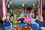All Ireland Day : Kerry fans  enjoying the All Ireland at Christy's Bar, Listowel on Sunday last.