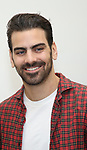 "Nyle DiMarco attends the cast photo call for the Broadway Revival of  ""Children of a Lesser God"" on February 22, 2018 at the Roundabout Rehearsal Studios in New York City."