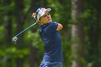 Lexi Thompson (USA) watches her tee shot on 11 during round 2 of the U.S. Women's Open Championship, Shoal Creek Country Club, at Birmingham, Alabama, USA. 6/1/2018.<br /> Picture: Golffile | Ken Murray<br /> <br /> All photo usage must carry mandatory copyright credit (&copy; Golffile | Ken Murray)