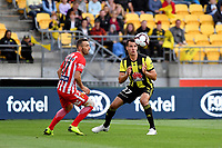Wellington Phoenix' Steven Taylor in action during the A League - Wellington Phoenix v Melbourne City FC at Westpac Stadium, Wellington, New Zealand on Saturday 26 January 2019. <br /> Photo by Masanori Udagawa. <br /> www.photowellington.photoshelter.com