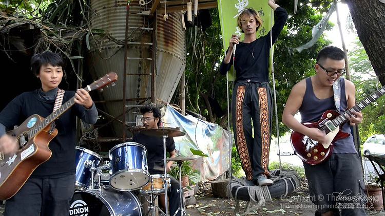 """Video still frame of the BENTO BAND Music Video """"A Piece Of Land) in Tainan County, Taiwan."""