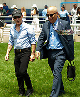 Toronto, Ontario. Trainer Mark Casse has three entries on the card today for 159th running of the Queen's Plate at Woodbine Racetrack in Toronto, Ontario, Canada. (Photo by Kristin Leason/Eclipse Sportswire/Getty Images)