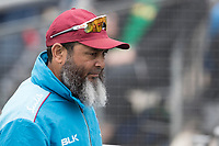 Mushtaq Ahmed during South Africa vs West Indies, ICC World Cup Warm-Up Match Cricket at the Bristol County Ground on 26th May 2019