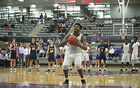 NWA Democrat-Gazette/ANDY SHUPE<br /> Fayetteville's Bentonville West's Friday, Jan. 4, 2018, during play in Bulldog Arena. Visit nwadg.com/photos to see more photographs from the game.