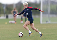 Tampa, FL - February 20, 2019: The USWNT trains prior to the SheBelieves Cup.
