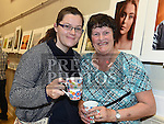 Jennie Short and Margaret White at the Mid-Louth Camera Club's 20th anniversary exhibition in St. Brigid's Hall Dunleer. Photo:Colin Bell/pressphotos.ie