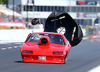 May 13, 2016; Commerce, GA, USA; NHRA top sportsman driver XXXX during qualifying for the Southern Nationals at Atlanta Dragway. Mandatory Credit: Mark J. Rebilas-USA TODAY Sports