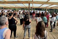 Chiapas, Mexico, 9 Marzo 2018<br /> PRIMO INCONTRO INTERNAZIONALE, POLITICO, ARTISTICO, SPORTIVO E CULTURALE DELLE DONNE CHE LOTTANO.<br /> Migliaia di donne provenienti da tutto il mondo si incontrano dal 8 al 10 Marzonel Caracol di Morelia con workshops e laboratori,<br /> L'incontro è organizzato dalle donne zapatiste dell'Esercito Zapatista di Liberazione Nazionela
