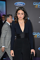 Chloe Bennet at the world premiere for &quot;Guardians of the Galaxy Vol. 2&quot; at the Dolby Theatre, Hollywood. <br /> Los Angeles, USA 19 April  2017<br /> Picture: Paul Smith/Featureflash/SilverHub 0208 004 5359 sales@silverhubmedia.com