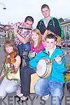 Local group 'Rud Easca' who were preforming live on Sunday afternoon in Abbeyfeale for the annual Fleadh by the Feale, pictured l-r: Melanie Murphy, Kieran Flavin, Laura Dillon, David Healy and Darragh Horan.