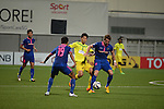 Warrior FC vs Maziya Sports & Recreation Club during the 2015 AFC Cup 2015 Group E match on May 12, 2015 at the Vivekananda Yuba Bharati Krirangan Stadium in Singapore. Photo by Nick Tan / World Sport Group