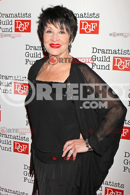 Chita Rivera attends The Dramatists Guild Fun's 50th Anniversary Gala at the Mandarin Oriental in New York, 03.06.2012...Credit: Rolf Mueller/face to face /MediaPunch Inc. ***FOR USA ONLY***