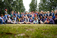 Barkeryd scout troop having a camp in camp in Ronneby. Photo: Mikko Roininen / Scouterna