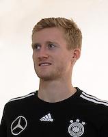 FUSSBALL INTERNATIONAL  EURO 2012   11.06.2012  Deutsche Nationalmannschaft in Danzig Andre Schuerrle (Deutschland)