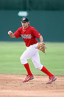 June 18th 2008:  Colt Sedbrook of the Batavia Muckdogs, Class-A affiliate of the St. Louis Cardinals, during a game at Dwyer Stadium in Batavia, NY.  Photo by:  Mike Janes/Four Seam Images