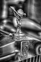 Classic car. Rolls Royce