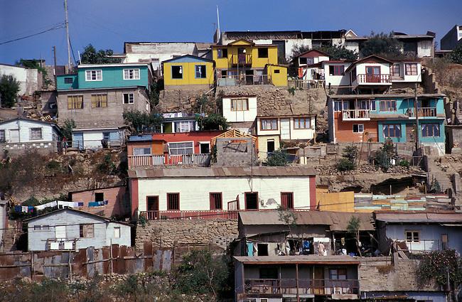 La Serena, port de Coquimbo. *** Coquimbo harbour, la Serena, Chile.