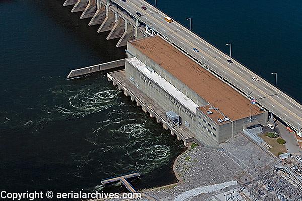 aerial photograph Chickamauga Dam Tennesse River Chattanooga