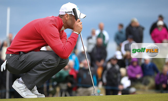 Martin Kaymer (GER) during Round One of the 2016 Aberdeen Asset Management Scottish Open, played at Castle Stuart Golf Club, Inverness, Scotland. 07/07/2016. Picture: David Lloyd | Golffile.<br /> <br /> All photos usage must carry mandatory copyright credit (&copy; Golffile | David Lloyd)
