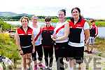 The Workmen's Pre Vet Ladies crew who took gold in Waterville on Sunday pictured l-r; Dervla Ireland, Noreen O'Donoghue, Conor Lehane(cox), Karen Hill & Pauline O'Brien.