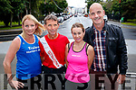 Launch of the Rose of Tralee 10k were Michelle Greaney, Tommy Horan, Anne Kelliher and Martin O'Sullivan, Race DIrector.