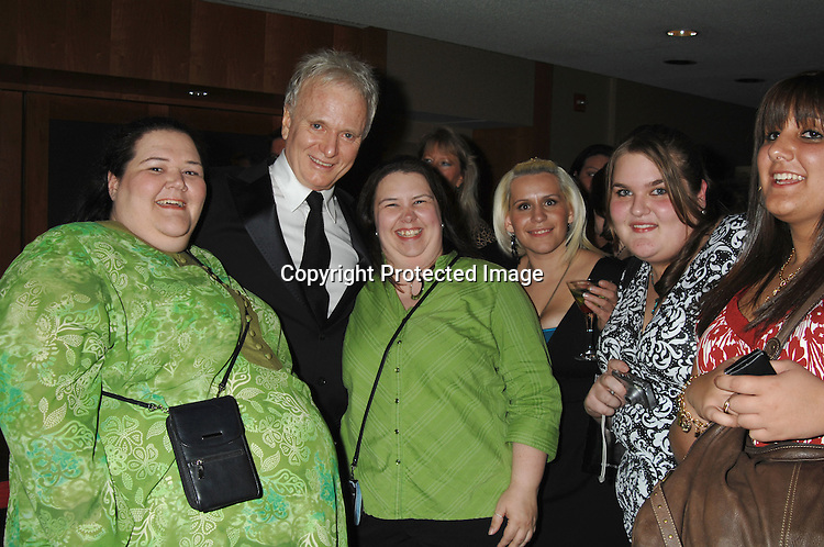 "Tony Geary and fans..at the afterparty for The 3rd Annual ""ABC Daytime Salutes Broadway Cares/Equity Fights Aids "" Benefit at the Marriott Marquis in New York on February 25, 2007. ..Robin Platzer, Twin Images.."