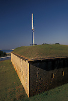 Navy, fort, Pensacola, Florida, FL, Fort Barrancas at the U.S. Naval Air Station in Pensacola.