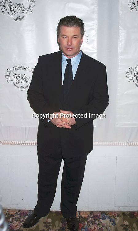 Alec Baldwin..at the National Board of Review of Motion Pictures 2003 Annual Awards Gala on January 13, 2003 at The Tavern on the Green. Photo by Robin Platzer, Twin Images
