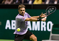 Rotterdam, The Netherlands, 13 Februari 2019, ABNAMRO World Tennis Tournament, Ahoy, Stan Wawrinka (SUI),<br /> Photo: www.tennisimages.com/Henk Koster