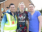 Liz Burke and Claire and Linda Gaffney who took part in the St. Colmcilles 10K run. Photo:Colin Bell/pressphotos.ie