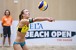 05.01.2019, Den Haag, Sportcampus Zuiderpark<br />Beachvolleyball, FIVB World Tour, 2019 DELA Beach Open<br /><br />Zuspiel Sandra Ittlinger (#2 GER)<br /><br />  Foto &copy; nordphoto / Kurth