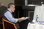 Gerry Adams prepares for Internal Sinn Fein Conference in Drogheda 2012