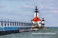 64795-02811 St. Joseph North Pier Lighthouses St. Joseph, MI