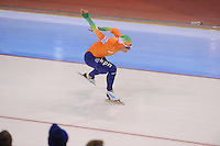 SCHAATSEN: SALT LAKE CITY: Utah Olympic Oval, 16-11-2013, Essent ISU World Cup, 1000m, Koen Verweij (NED), ©foto Martin de Jong
