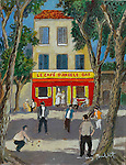 &quot;Le Cafe d'Angele Bar&quot;<br />