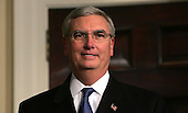 Washington, D.C. - March 3, 2005 --  Steve Johnson was appointed to be the Administrator of the United States Environmental Protection Agency (EPA) by United States President George W. Bush at the White House in Washington, DC on March 3, 2005. <br /> Credit: Dennis Brack - Pool via CNP