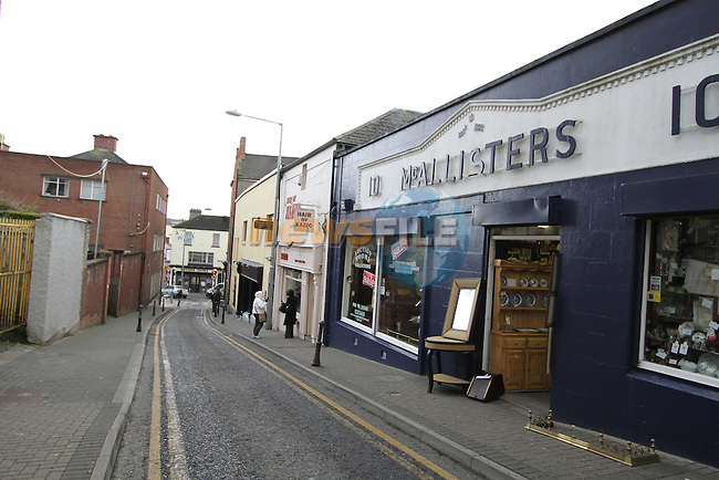Duke Street, Drogheda, Co.Louth..(Photo credit should read Jenny Matthews www.newsfile.ie)....This Picture has been sent you under the conditions enclosed by:.Newsfile Ltd..The Studio,.Millmount Abbey,.Drogheda,.Co Meath..Ireland..Tel: +353(0)41-9871240.Fax: +353(0)41-9871260.GSM: +353(0)86-2500958.email: pictures@newsfile.ie.www.newsfile.ie.