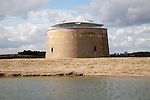 Martello Tower Y built 1808 conversion by Duncan and Kristin Jackson, Alderton, Suffolk, England  won an RIBA Award for the Eastern Region in March 2010.
