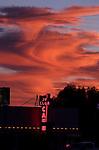 Sunset in Jordan Valley, Ore., on Wednesday,  Sept. 7, 2016. <br />Photo by Cathleen Allison