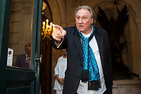 French actor Gerard Depardieu honoured in Brussels for his career - Belgium