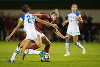 STANFORD, CA - September 27, 2018: Belle Briede at Stanford Stadium. The Stanford Cardinal defeated the UCLA Bruins, 3-2.