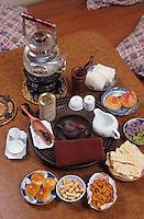 Asie/Singapour/Singapour: Tea Chapter Trading - Neil Road: Détail thé et petits gateaux