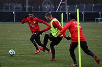 Ante Rebic (Eintracht Frankfurt), Slobodan Medojevic (Eintracht Frankfurt) - 05.12.2017: Eintracht Frankfurt Training, Commerzbank Arena