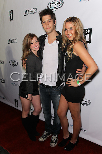 MOLLY BURNETT, CASEY DEIDRICK, DANIELLA WHEELER. Attendees to Souljah Boy Red Carpet Birthday Bash and Performance, sponsored by Swaggmedia.com, at the Highlands. Hollywood, CA, USA. July 28, 2010.