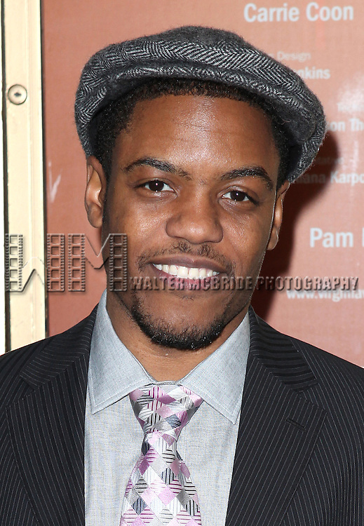 Jon Michael Hill attending the Opening Night Performance of Edward Albee's 'Who's Afraid of Virginia Woolf?' at the Booth Theatre on October 13, 2012 in New York City.