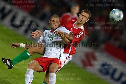 Pworld championships qualifier soccer game between the team of Hungary and Portugal held in Budapest, Hungary. Wednesday, 09. September 2009. ATTILA VOLGYI