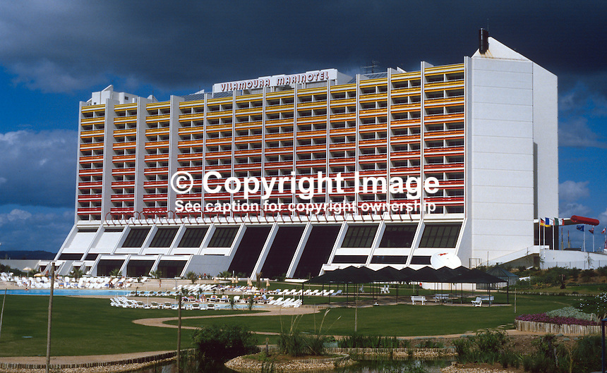 Marinotel, Vilamoura, Portugal, 19871043MV..Copyright Image from Victor Patterson, 54 Dorchester Park, Belfast, UK, BT9 6RJ..Tel: +44 28 9066 1296.Mob: +44 7802 353836.Voicemail +44 20 8816 7153.Skype: victorpattersonbelfast.Email: victorpatterson@me.com.Email: victorpatterson@ireland.com (back-up)..IMPORTANT: If you wish to use this image or any other of my images please go to www.victorpatterson.com and click on the Terms & Conditions. Then contact me by email or phone with the reference number(s) of the image(s) concerned.